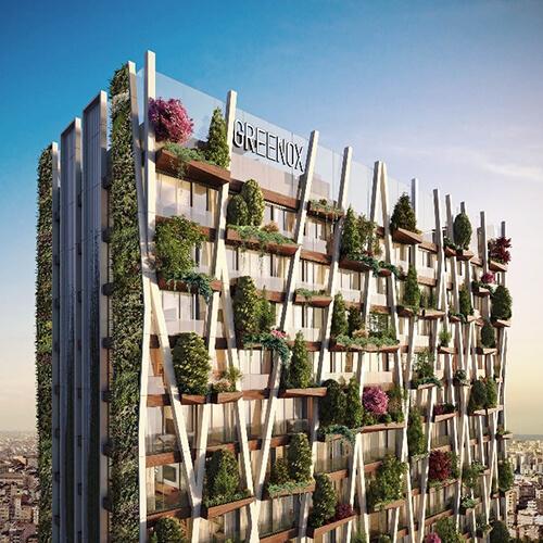 Greenox Residence Sürdürülebilir Yeşil Konut